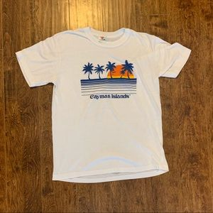 Vintage 80s Cayman Islands Shirt
